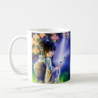 Butterfly, Butterfly cup Classic White Coffee Mug