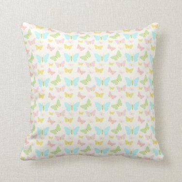 Butterfly, Butterfly Throw Pillow