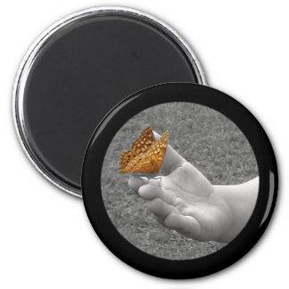Butterfly Button Fridge Magnets