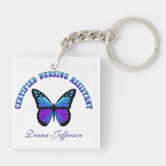 Butterfly C.N.A Keychain Acrylic Key Chain