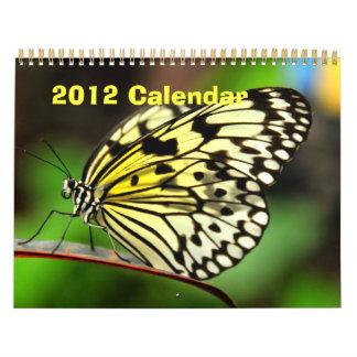 Butterfly Calendar 2012