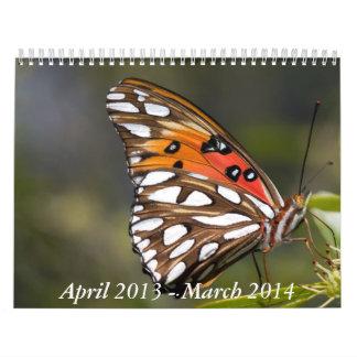 Butterfly Calendar 2013-2014