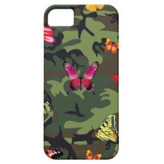 butterfly camouflage iPhone SE/5/5s case