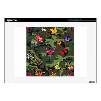 butterfly camouflage skin for laptop