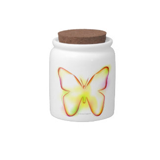 Butterfly Candy Jars