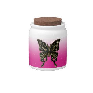 Butterfly Candy Jar