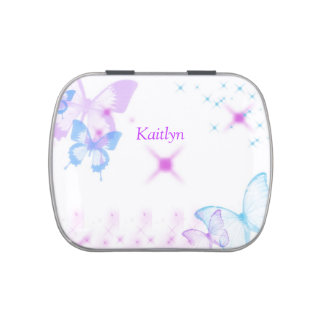 Butterfly Candy Tin