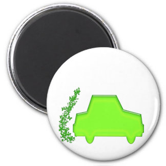 Butterfly Car ... The Eco Machine 2 Inch Round Magnet