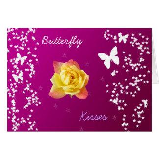Butterfly Card by Pâtisseries Poétique de Muse