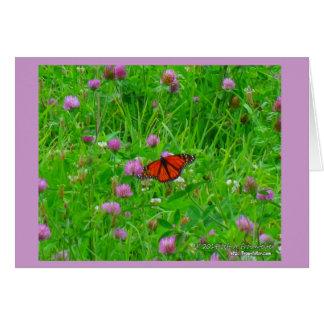 Butterfly Card- Monarch in Flight