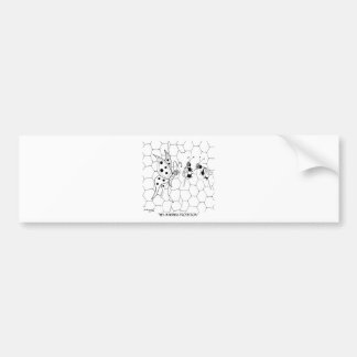 Butterfly Cartoon 8922 Bumper Sticker