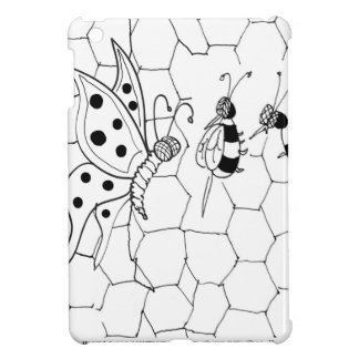 Butterfly Cartoon 8922 Cover For The iPad Mini
