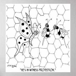 Butterfly Cartoon 8922 Poster