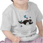 Butterfly Cat Infant T-Shirt