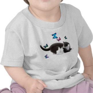 Butterfly Cat Infant T-Shirt