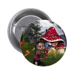 butterfly catching pinback buttons