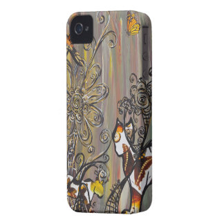 Butterfly  Cats Case-Mate ID iPhone 4 Case