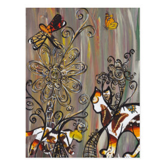 Butterfly Cats Postcards