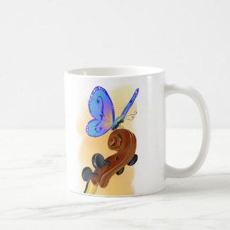 Butterfly Cello Mug