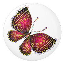 Butterfly Ceramic Knobs and Pulls