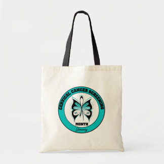 Butterfly - Cervical Cancer Screening Month Bags
