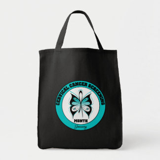 Butterfly - Cervical Cancer Screening Month Bag
