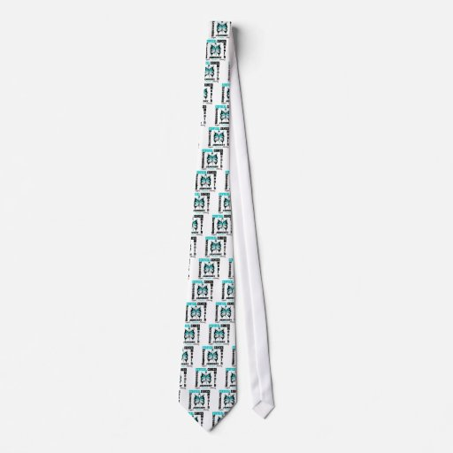 Butterfly Cervical Cancer Screening Month Tie