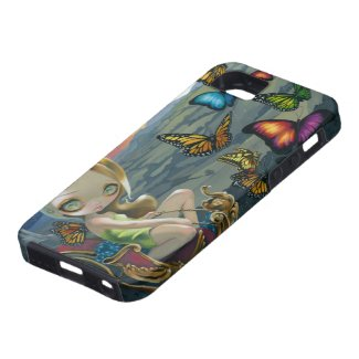 """""""Butterfly Chariot"""" iPhone 5 Case"""