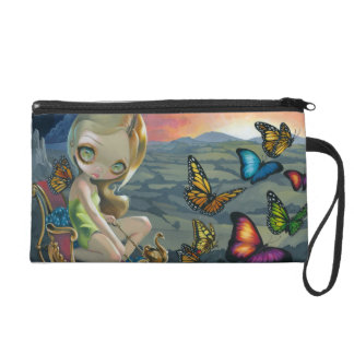 """Butterfly Chariot"" Wristlet"