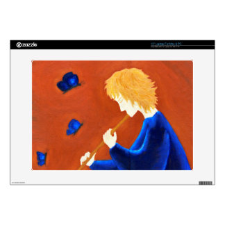 """Butterfly charmer 15"""" laptop decal"""