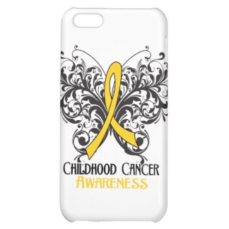 Butterfly Childhood Cancer Awareness Cover For iPhone 5C
