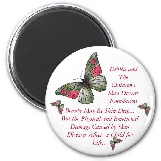 Butterfly Children Magnet