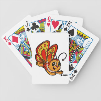 Butterfly Chloe Bicycle Playing Cards