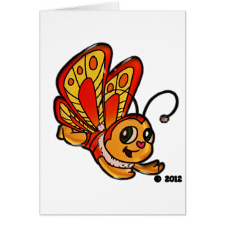 Butterfly Chloe Promotional Items Card
