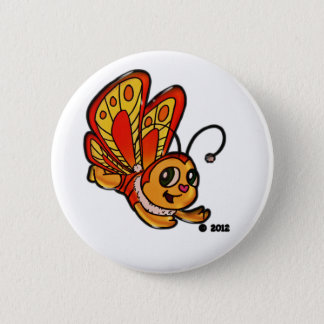Butterfly Chloe Promotional Items Pinback Button