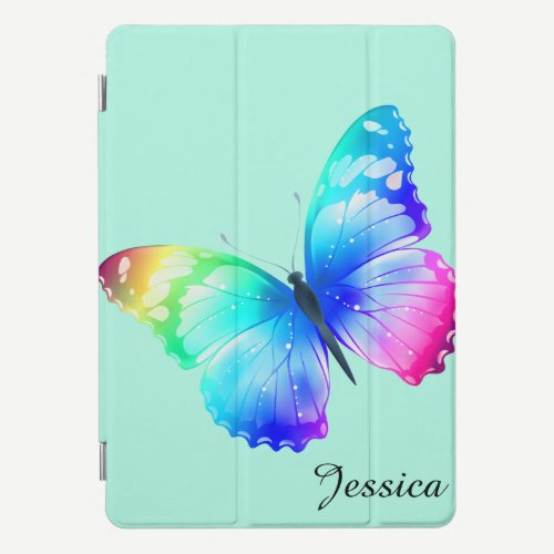 Butterfly CHOOSE THE Color Your Name iPad Pro Cover