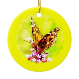 Butterfly Christmas Ornament ornament