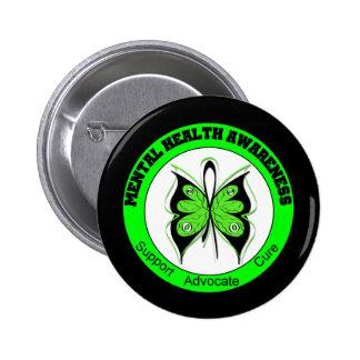 Butterfly Circle Mental Health Awareness Pins