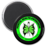 Butterfly Circle Mental Health Awareness Fridge Magnets