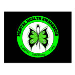 Butterfly Circle Mental Health Awareness Postcards