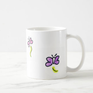 Butterfly Classic White Coffee Mug