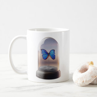 Butterfly Cloche Coffee Mug