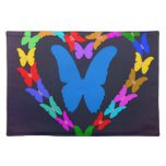 butterfly cloth placemat