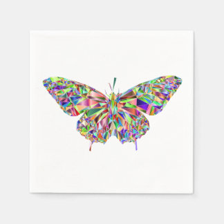 Butterfly Cocktail Napkins