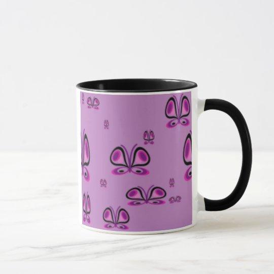BUTTERFLY COFFEE MUGS - DESIGNER KITCHEN DESIGNS