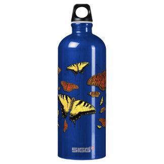 Butterfly Collage Aluminum Aluminum Water Bottle