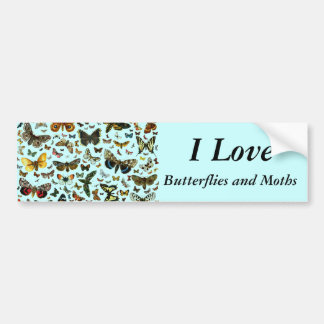 Butterfly Collage Bumper Sticker