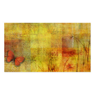 Butterfly Collage Business Cards