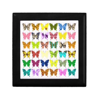Butterfly Collage Gift Box