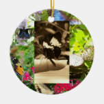 Butterfly Collage Ornament